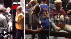 Justin Bieber recibe golpiza tras partido de NBA [VIDEO]