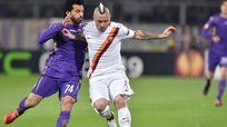 Europa League: Fiorentina se dejó empatar 1-1 por la Roma casi al final del partido [VIDEO]