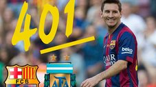 Los 401 goles de la carrera de Lionel Messi en un imperdible compacto [VIDEO]