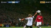 Manchester United vs Bayern Munich: Danny Welbeck y su increíble falla [VIDEO]