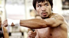 ​Mayweather vs Pacquiao: Pacman se divierte imitando a Money en el ring [VIDEO]