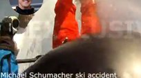 Michael Schumacher y su impactante accidente grabado desde su casco [VIDEO]