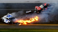Mira el terrible accidente en el Nascar Nationwide de Daytona [VIDEO]