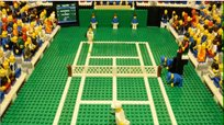 Mira los puntos de la final de Wimbledon recreado en Lego [VIDEO]
