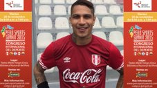 "Paolo Guerrero te invita al Congreso Internacional ""Perú Sports Summit"""
