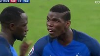 ​Paul Pogba casi se come vivo a Sissoko tras gol de Éder [VIDEO]