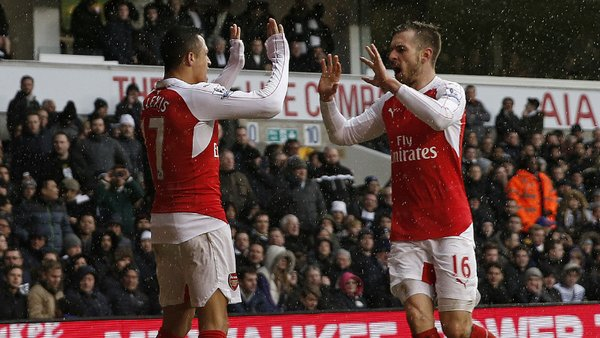 Premier League: Arsenal empató 1-1 con el Tottenham Hotspur [VIDEO]