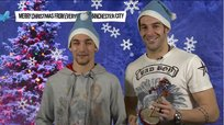 Premier League: Jesús Navas y Álvaro Negredo cantan villancicos de Navidad [VIDEO]