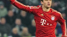 Real Madrid, Manchester United y Barcelona se disputan a Thomas Muller