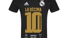 Real Madrid pone en venta camisetas de La Décima Champions League