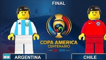 Recrean la final de la Copa América Centenario en Lego [VIDEO]