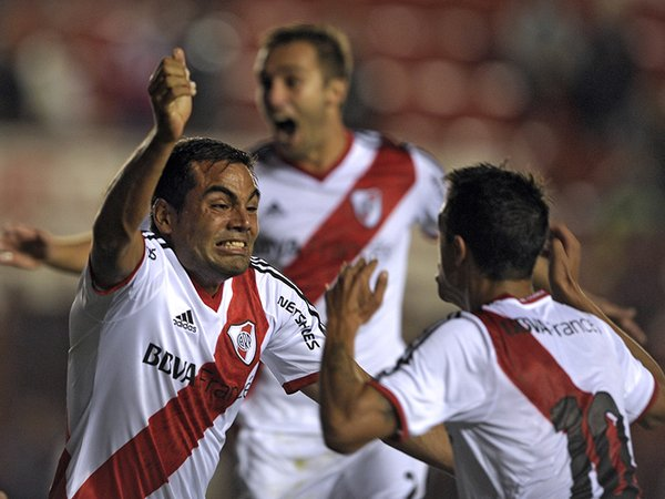 River Plate campeón del fútbol argentino tras golear 5-0 a Quilmes / Foto: AFP