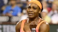 Tenis: Serena Williams lloró al vencer a rumana en Indian Wells