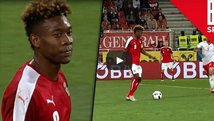 Terrorífico blooper de David Alaba en amistoso para la Euro [VIDEO]