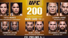 UFC 200: Mira la cartelera de este gran evento [VIDEO]