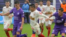 Universitario cayó goleado por Defensor en la Copa Sudamericana [VIDEO]