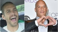 Vin Diesel luce polo en honor a Paul Walker durante FF8 [FOTO]