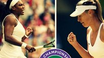 ​Wimbledon: Serena Williams y Maria Sharapova pasan a semis [VIDEO]