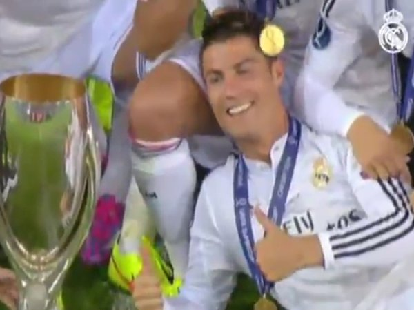 ​YouTube: Real Madrid apoya candidatura de Cristiano Ronaldo como Balón de Oro / Foto: captura YouTube AS