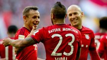 Robben vuelve, anota y Bayern Munich sigue imparable en la Bundesliga