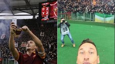 Francesco Totti: revive su selfie ante la Lazio [VIDEO]