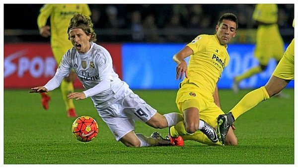 Real Madrid: Terrible momento de Luka Modric