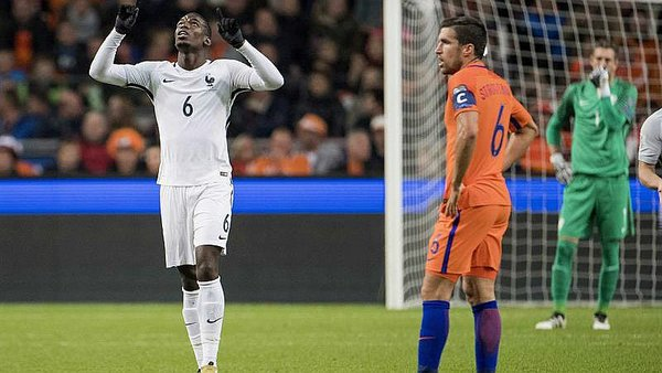 Francia vence 1-0 a Holanda con gol de Paul Pogba [VIDEO]