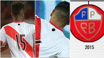Perú vs. Chile: tacharon escudo de camiseta por similitud al de Chile