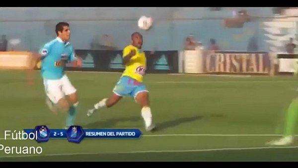 Sporting Cristal: Wilmer Aguirre humilló a celestes / Foto: twitter