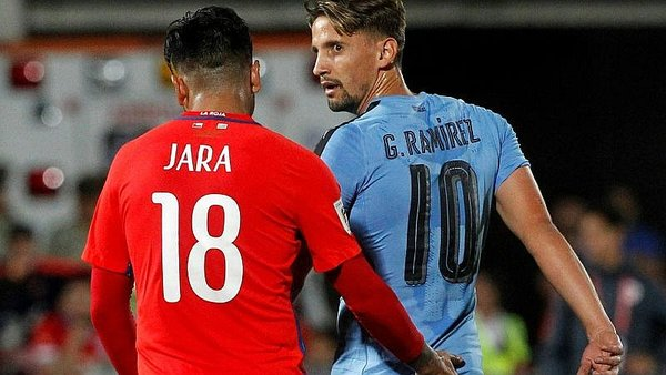 Chile vs. Uruguay: ¿Gonzalo Jara volvió a meter 'dedito'? [VIDEO]