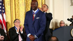 NBA: Michael Jordan lloró con frase de Barack Obama [VIDEO]