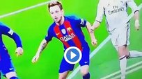 Barcelona vs Real Madrid: ¿Polémica por mano de Ivan Rakitic? [VIDEO]