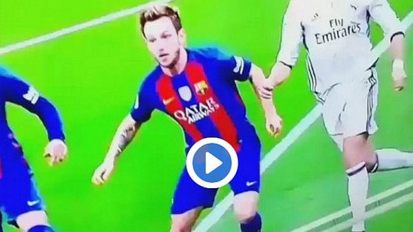 Barcelona vs Real Madrid: ¿Fue mano de Ivan Rakitic?  / Foto: twitter