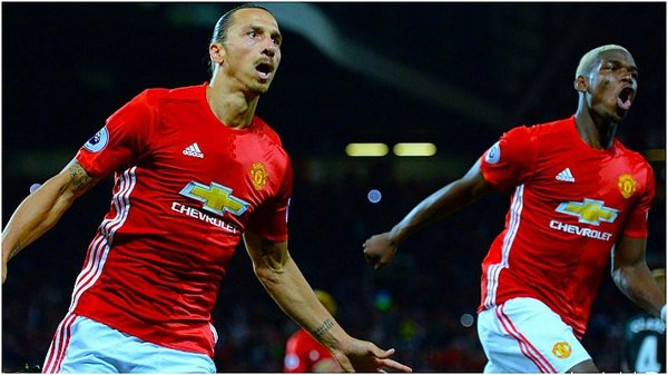 Manchester United: Zlatan Ibrahimovic marcó doblete ante West Bromwich