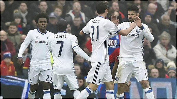 Premier League: Chelsea vence a Crystal Palace y sigue líder