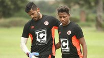 Universitario: El último entrenamiento de Andy Polo en el club merengue