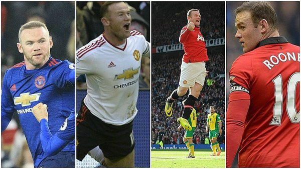 Wayne Rooney: Mira todos sus goles con Manchester United [ / Foto: twitter
