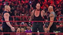 WWE: The Undertaker, Brock Lesnar y Bill Goldberg en Raw [VIDEO]