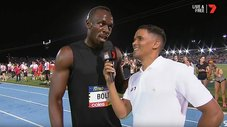 Usain Bolt arrasa en el inicio del All Stars Nitro Athletics [VIDEO]
