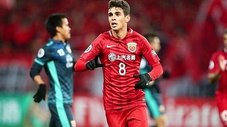Oscar anotó su primer golazo en China [VIDEO]