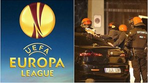 Europa League: ​Incidentes entre hinchas de Athletic y APOEL [VIDEO]