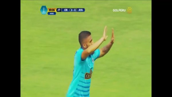 Sporting Cristal: Josepmir Ballón puso el 4-0 final con un golazo [VIDEO]
