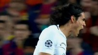 Barcelona vs. PSG: Edinson Cavani silenció el Camp Nou [VIDEO]