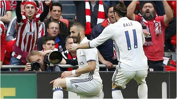 Real Madrid gana en San Mamés al Athletic Bilbao y sigue líder [VIDEO]