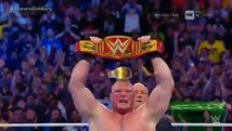 WWE: Brock Lesnar se cobró la revancha y venció a Goldberg [VIDEO]