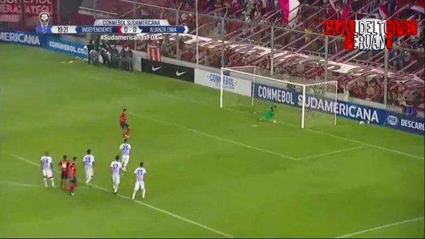Alianza Lima vs. Independiente: Leao Butrón atajó penal a Gigliotti [VIDEO]