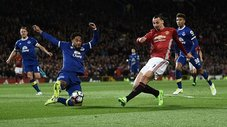 Manchester United empató sobre la hora 1-1 con Everton [VIDEO]