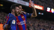 Revive el espectacular doblete de Lionel Messi ante Sevilla [VIDEO]