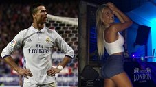 "Cristiano Ronaldo vio el ""vivo"" en Instagram de presentadora de TyC Sports [FOTOS/VIDEO]"