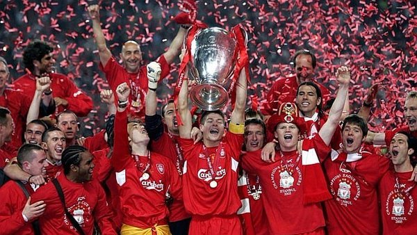 Champions League: 12 años del